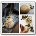 Gorgeous wee Swiss pocket watch Pendant - Steampunk Inspired Vintage chic