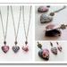 Floral Heart Locket, Choose your design - Feminine Memory Keeper in 3 beautiful options
