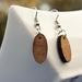 Rimu oval earrings