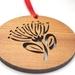 Pohutakawa xmas tree ornament