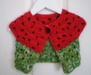 Juicy - crochet watermelon top