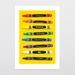 Pick A Colour Art Print
