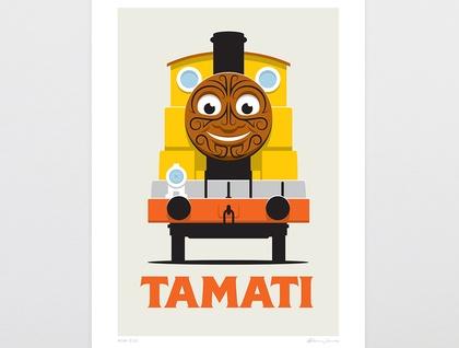 Kiwi Cuz Art Print - A4