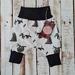 Frankie Raine French Fleece Harem Pants