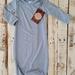 Frankie Raine 100% Premium ZQ Merino Drawstring Gown
