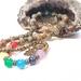 Sea sediment jasper 27 bead chakra mala bracelet