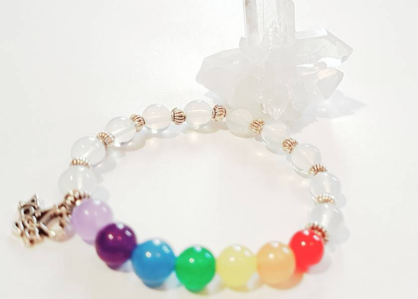 Opalite Chakra bracelet