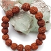 Rudraksha 18 seed mala bracelet - made to order