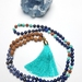Wisdom and Creativity - 108 bead hand knotted mala