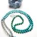Healing Communication and Abundance - 108 bead mala