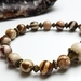 Take Action -Zebra Jasper bracelet.