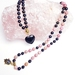 Follow your true hearts desires - 108 bead hand knotted mala