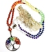 Tree of life chakra  - 108 hand knotted mala