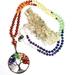 Tree of life chakra  - 108 hand knotted mala