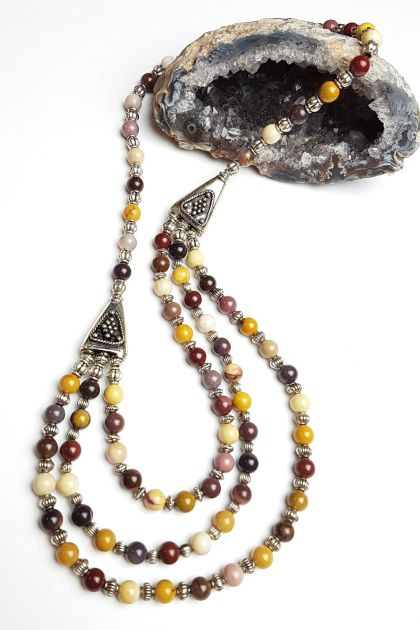 Empowered healing - Mookaite Necklace