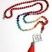 I Am Safe -Muladhara Root Chakra 108 hand knotted mala