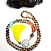 I Am Powerful - Manipura Solar Plexus Chakra 108 hand knotted mala