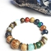 Joy, discovery and adventure - Unisex chunky bracelet