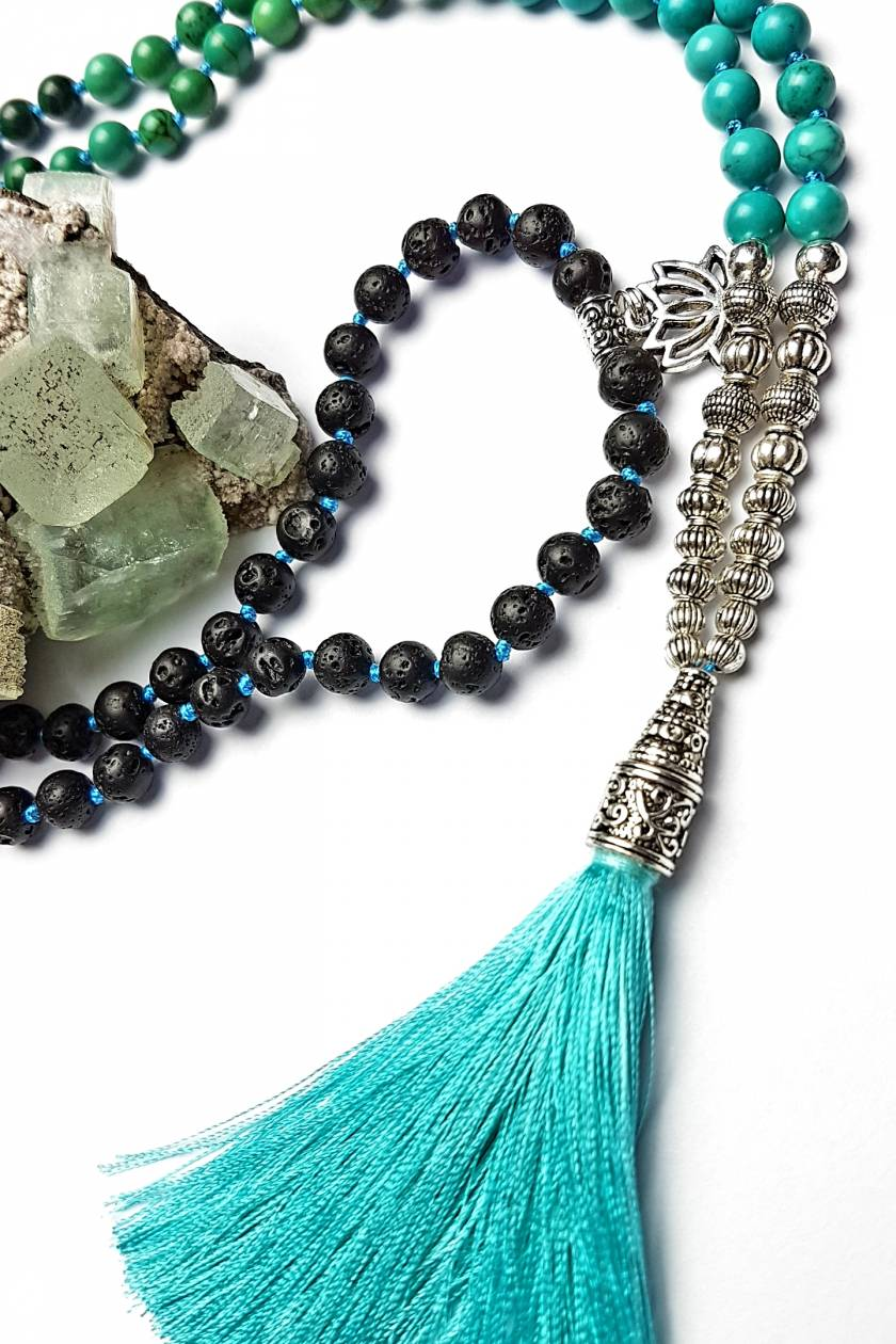 Healing, Tranformation and Personal Power-108 bead mala