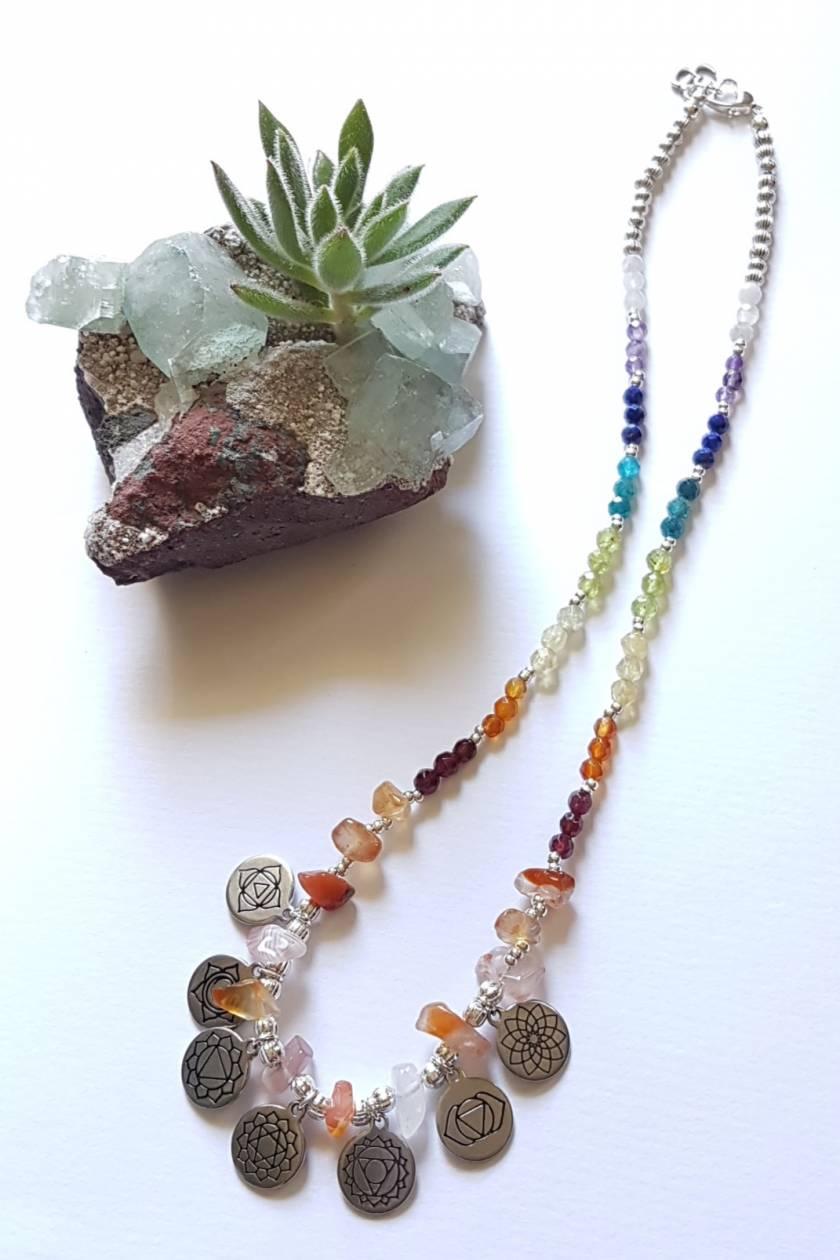 Chakra Gemstone Necklace