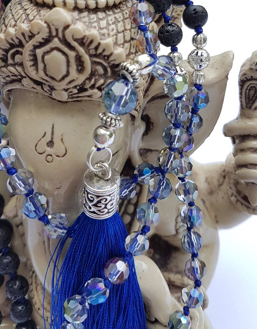 SALE - Embraceing Change - 108 bead mala with lovely tassel.