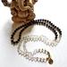 Yin and Yang - 108 hand knotted mala