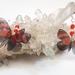 Callicore cynosura butterfly earrings