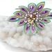 Hana Tsumami Kanzashi Flower headband - Sparkle