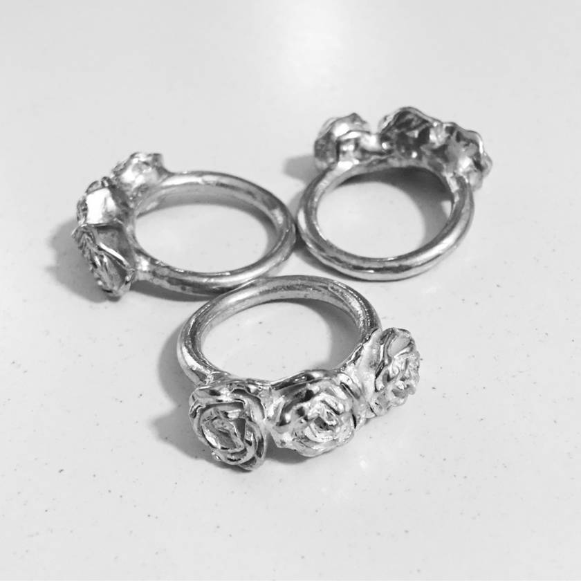 Triple Rose Ring