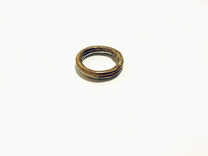 Pair of Organic Circle Stacking Rings