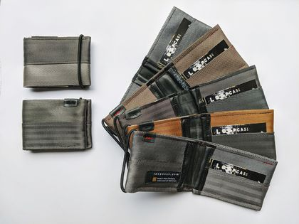 LOOPCASE Stiglitz seatbelt wallet