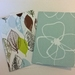 Fabric Covered Greeting Cards x2