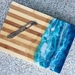 Beach theme artesian serving or cheese board