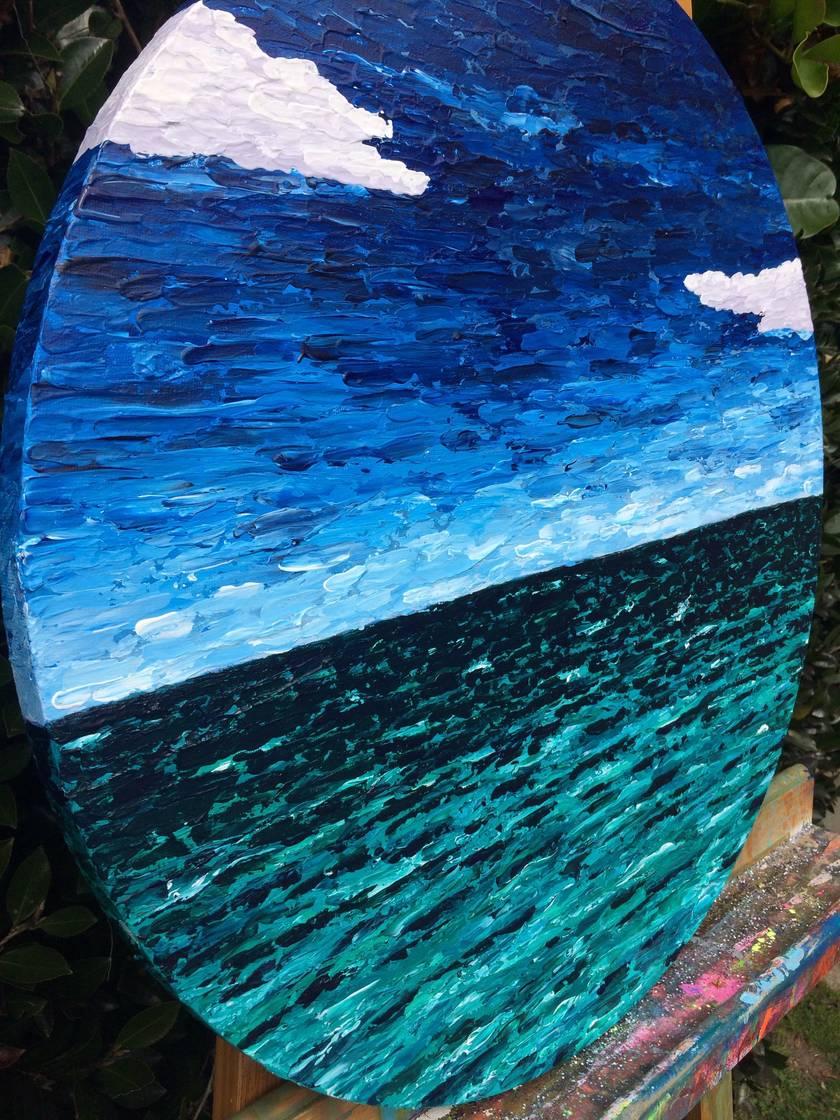 High Seas - original ocean art