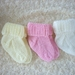 Hand Knitted Baby Socks- 6 months
