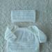 Hand knitted Merino Jumper & Hat 3-6 Months