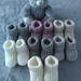 100% Hand Knitted Merino Booties-Newborn-3 months