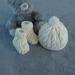100% Merino Cap & Booties - Newborn- Cream