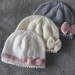100% Merino Hand Knitted Hats -Newborn