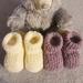 100% NZ Merino Booties-Newborn-3 months