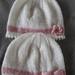 100% Merino Knitted Beanie- Hats-Newborn