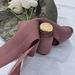 5m plant-dyed silk ribbon - Plum