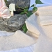 Plant-dyed silk ribbon 5m - Blush