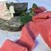Plant-dyed silk ribbon 2.8m - Antique Rose