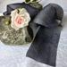 Plant-dyed silk ribbon 3m - Slate