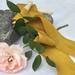 Plant-dyed silk ribbon 5m - Marigold