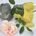 5m plant-dyed recycled silk chiffon ribbon - Marigold