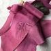 FUCHSIA hand dyed silk habotai ribbon 3.8cm wide $8 per metre