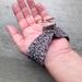 Black Wristlet Key Fob-Ring