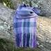 Lavender Diamond Alpaca Scarf